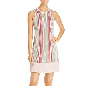 Tommy Bahama Vista Sol Striped Swing Dress  - Malibu Peach - Size: Large