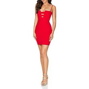Nookie Flaunt Mini Dress  - Female - Red - Size: Large