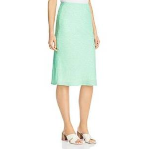Charlie Holiday Stellar Midi Skirt  - Female - Green Speckle - Size: Large