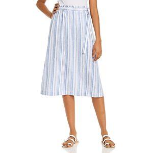 Tommy Bahama Striped Skirt  - Female - Turkish Sea - Size: Large