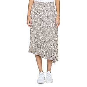 Sanctuary The Summer Leopard Print Pleated Skirt  - Mini Leopard - Size: Large