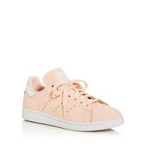adidas Women's Stan Smith Lace Up Sneakers  - Female - Ice Pink - Size: 11