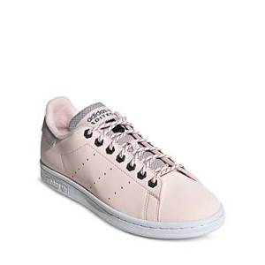 adidas Women's Stan Smith Lace Up Sneakers  - Halo Pink - Size: 11