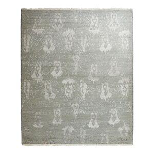 Bloomingdale's Ikat 651124 Area Rug, 6'3 x 9'3  - Unisex - Silver