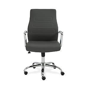 Euro Style Fenella Low Back Office Chair  - Gray