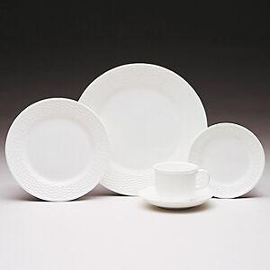 Wedgwood Nantucket Basket Salad Plate  - White