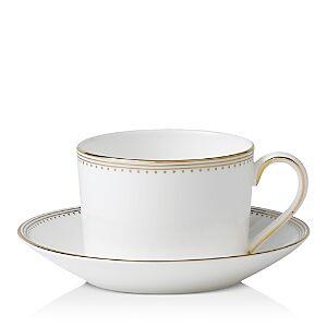 Wedgwood Vera Wang Wedgwood Golden Grosgrain Tea Saucer  - No Color