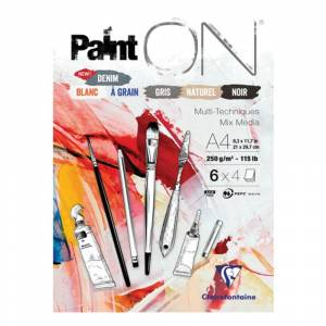 Clairefontaine 'Paint ON' Multi-Media Pads - 250gsm (115lb)