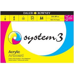 Daler Rowney Daler-Rowney System 3 Acrylic Artboard Pads