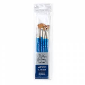 Winsor & Newton Cotman 7 Brush Set