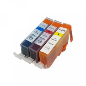 Canon Compatible Canon CLI-526 Colour Ink Multipack C/M/Y