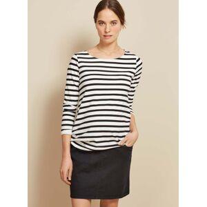 Isabella Oliver Maternity Denim Maternity Skirt-Black Wash  - Size: Female
