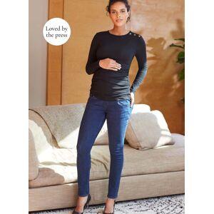 Isabella Oliver Maternity Super Stretch Maternity Skinny Jean-Indigo  - Size: Female
