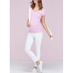 Isabella Oliver Maternity Zadie Stretch Maternity Skinny Jeans-Off White  - Size: 12