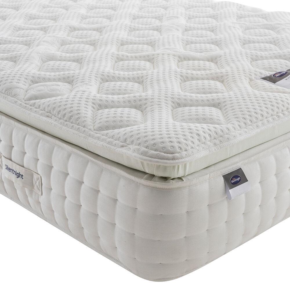 Silentnight Mirapocket Geltex Pillow Top Mattress, King Size