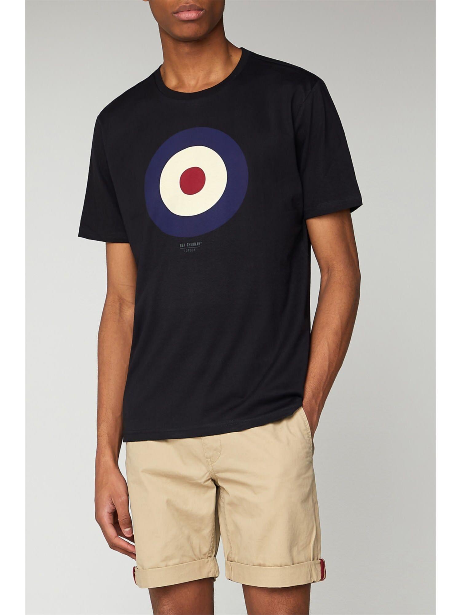 Ben Sherman Target T-Shirt Sml Black
