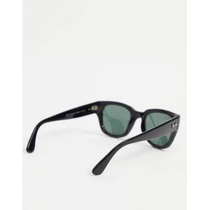 Ray-Ban 0RB4178 chunky frame sunglasses-Black  - Black - Size: No Size