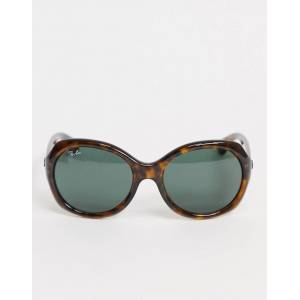 Ray-Ban 0RB4191 oversized sunglasses in tortoise shell-Brown  - Brown - Size: No Size