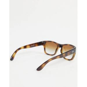 Ray-Ban 0RB4194 square lens sunglasses in tortoise shell-Brown  - Brown - Size: No Size
