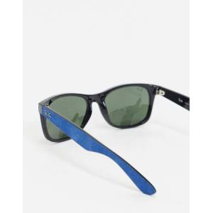 Ray-Ban clubmaster sunglasses in blue  - Blue - Size: No Size