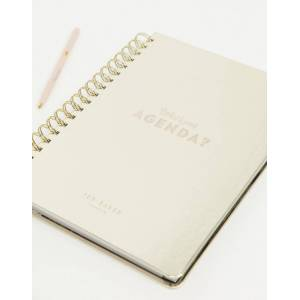 Ted Baker agenda in gold  - Gold - Size: No Size
