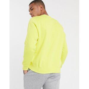 Nike Club crew neck sweat in lime-Green  - Green - Size: Medium