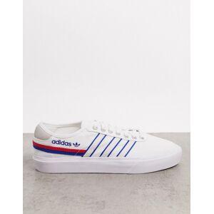adidas Originals Delpala trainers in white  - White - Size: 10
