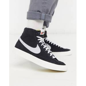 Nike Blazer Mid '77 suede trainers in black  - 25950151349 - Size: 10