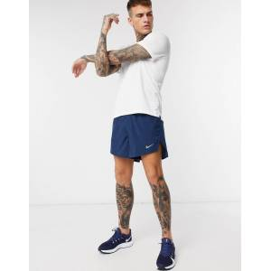 Nike Running Fast shorts in blue  - Blue - Size: Small
