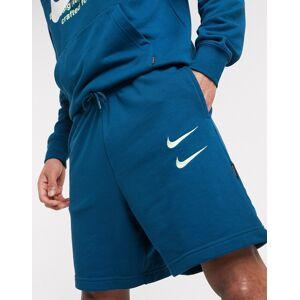 Nike Swoosh logo shorts in teal-Green  - 26508561581 - Size: Extra Large