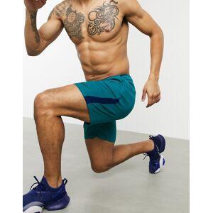 Nike Training dry 5.0 shorts in blue  - Blue - Size: Extra Large