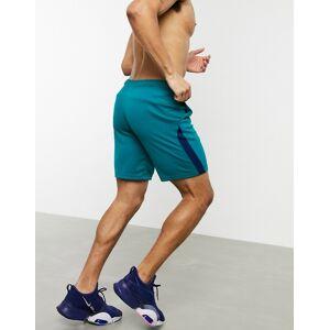 Nike Training dry 5.0 shorts in blue  - Blue - Size: Large