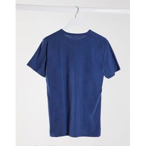 Abercrombie & Fitch graphic logo crewneck 3 pack t-shirt in white/tan/blue-Multi  - Multi - Size: Medium