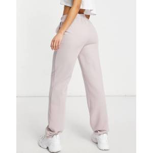 ASOS Tall ASOS DESIGN Tall jersey WFH sweat jogger in lilac grey-Purple  - Purple - Size: 18
