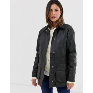 Barbour Beadnell wax jacket-Green  - Green - Size: 6