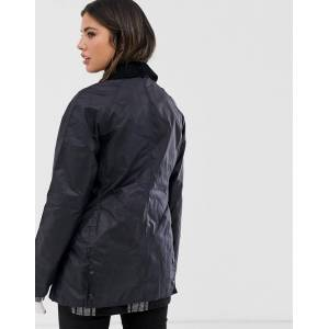 Barbour Beadnell wax jacket-Navy  - Navy - Size: 8