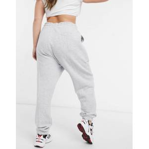 COLLUSION Plus exclusive seam front joggers in grey  - Grey - Size: 18