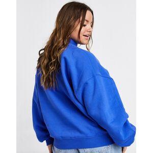 Dr Denim Plus long sleeve sweatshirt in blue  - Blue - Size: 50