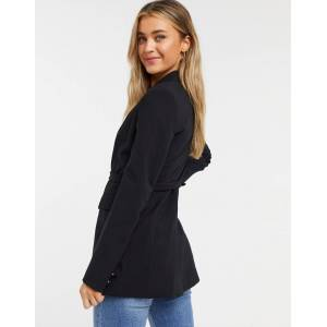 French Connection blazer in black  - Black - Size: 18