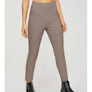 Miss Selfridge Petite bengaline trousers co-ord in brown  - Brown - Size: 10