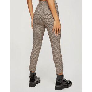 Miss Selfridge Petite bengaline trousers co-ord in brown  - Brown - Size: 12