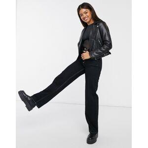 New Look mesh body in black  - Black - Size: 10
