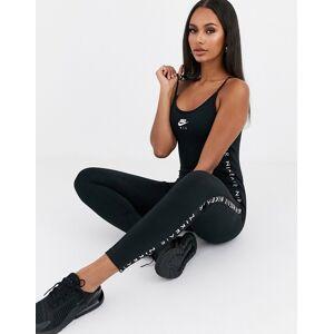 Nike Air black unitard jumpsuit  - Black - Size: 2X-Large