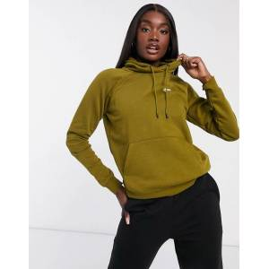 Nike essentials hoodie in khaki green  - Green - Size: Extra Small