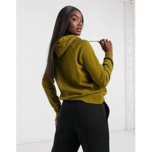 Nike essentials hoodie in khaki green  - Green - Size: Extra Large