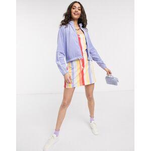 Nike rainbow stripe mini bodcon dress-Multi  - 26312132317 - Size: Large