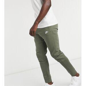Nike Tall Club cuffed joggers in khaki-Green  - Green - Size: Medium