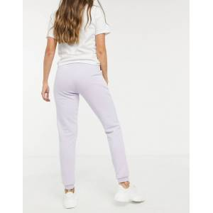 Pieces joggers in lilac-Purple  - Purple - Size: Extra Large