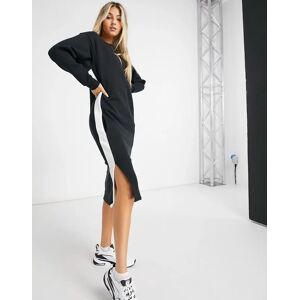 Puma Classic long sleeve dress in black  - Black - Size: Large