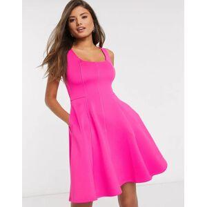 Ted Baker lohanna scooped neck neoprene skater dress in pink  - 26562837427 - Size: Size 4